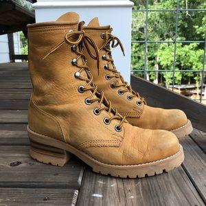 Vintage Nine West combat boots